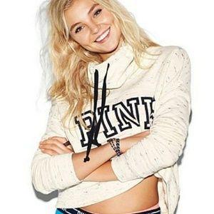 VS Pink cowl neck sweatshirt
